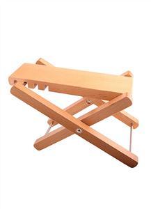 زیرپایی چوبی کرافت (همراه با کیف)